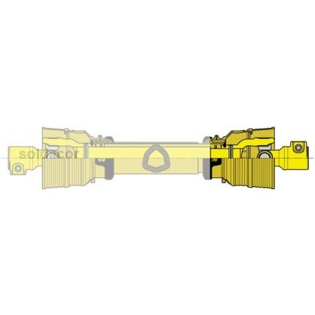 Transmisión serie AX tubo triangular mod,. 1