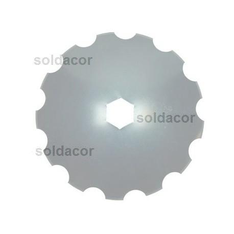 """Disco para grada 20"""" 510x3.5 mm. espesor. Dentado"""